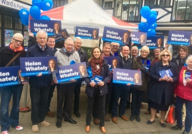 Helen Whately launches campaign